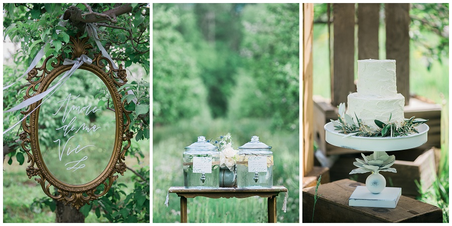 Orchard Wedding Inspiration, Niagara Wedding Inspiration, Elegant Wedding Inspiration