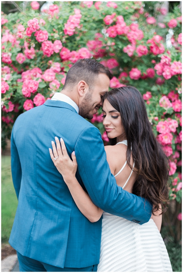 Royal Botanical Gardens Engagement Photos in Burlington Ontario, flower filled engagement session, toronto wedding photographer