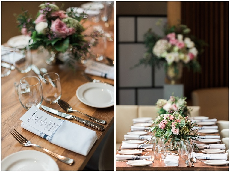 modern urban wedding in toronto, romantic first look and personal vows at gairloch gardens, wedding photos in liberty village
