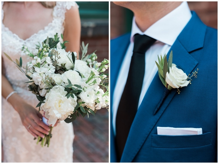 cool green and shady bouquet, rustic bouquet for laid back bride