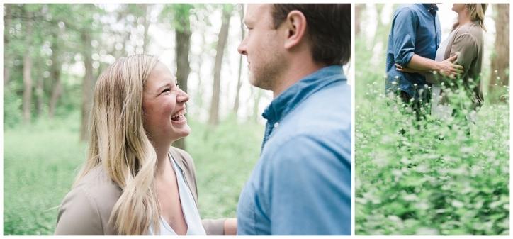fun loving engagement session, Oakville engagement session, romantic engagement session, lakefront engagement session