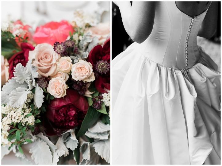 trinity college wedding ceremony, best toronto wedding photographer, documentary style wedding photographer, elegant toronto wedding ideas, blush pink bridesmaid dresses, dmf flowers, whimsical bridal bouquet
